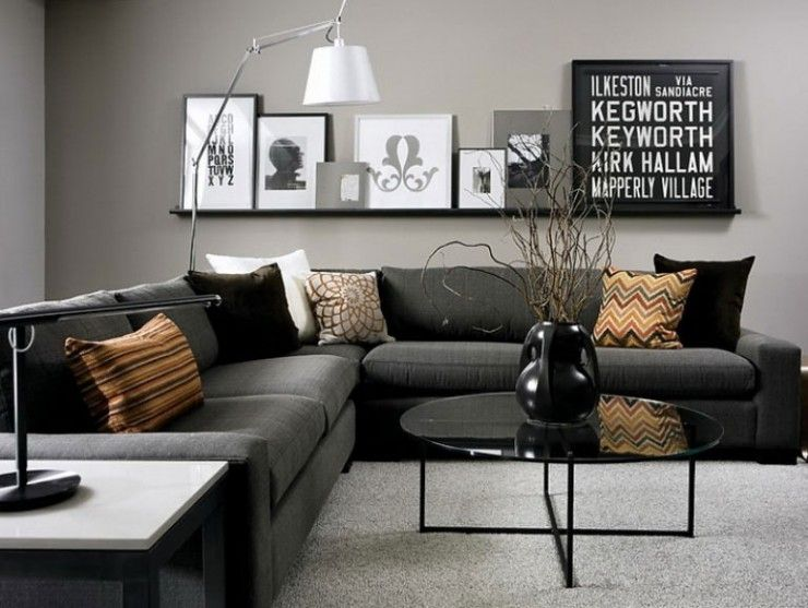 Grey Sofa Living Room Wild Country, How To Decorate Living Room With Grey Sofa