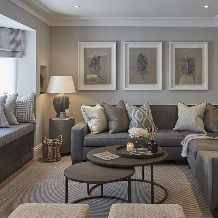 Living Rooms With Gray Walls Wild, How To Decorate Living Room With Gray Walls