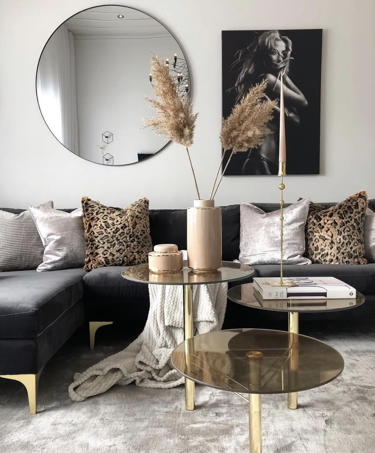 Black And Gold Living Room Decor   Wild Country Fine Arts