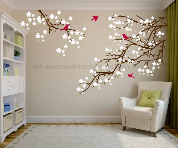 Living Room Wall Decals Wild Country, Wall Decals For Living Room