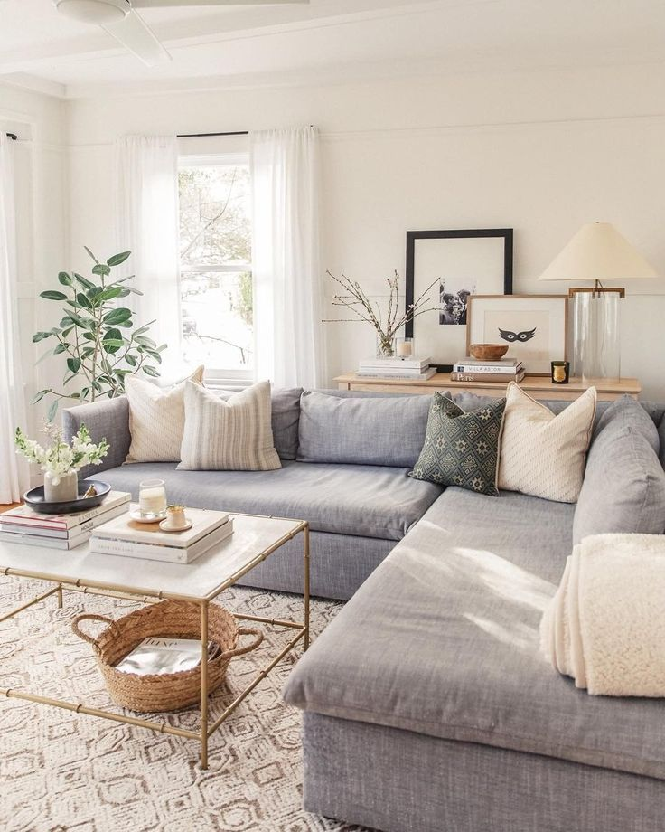 Grey Sectional Living Room Ideas Wild, How To Design Living Room With Gray Sofa