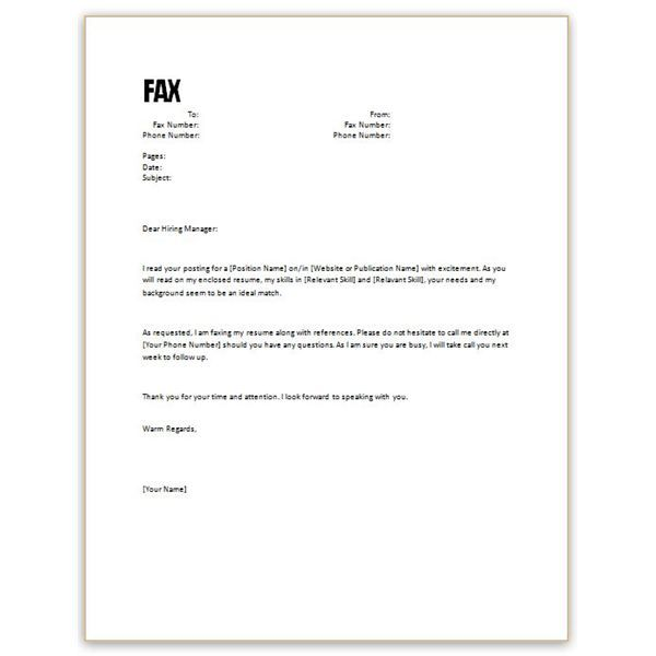 Free Cover Letter Template For Resume In Word Wild Country Fine Arts